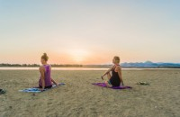 Kitesurfing and Yoga