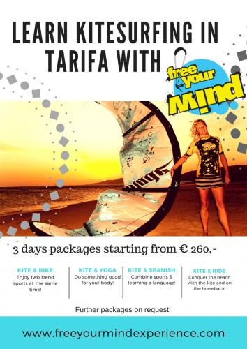 Kitesurfing Tarifa Packages 2018