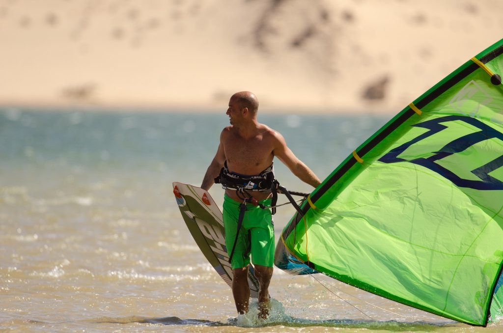 Learn kitesurf Dakhla