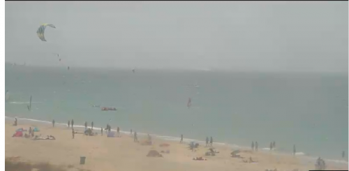 Webcam Los Lances - Tarifa
