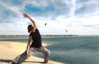 Yoga kitesurf