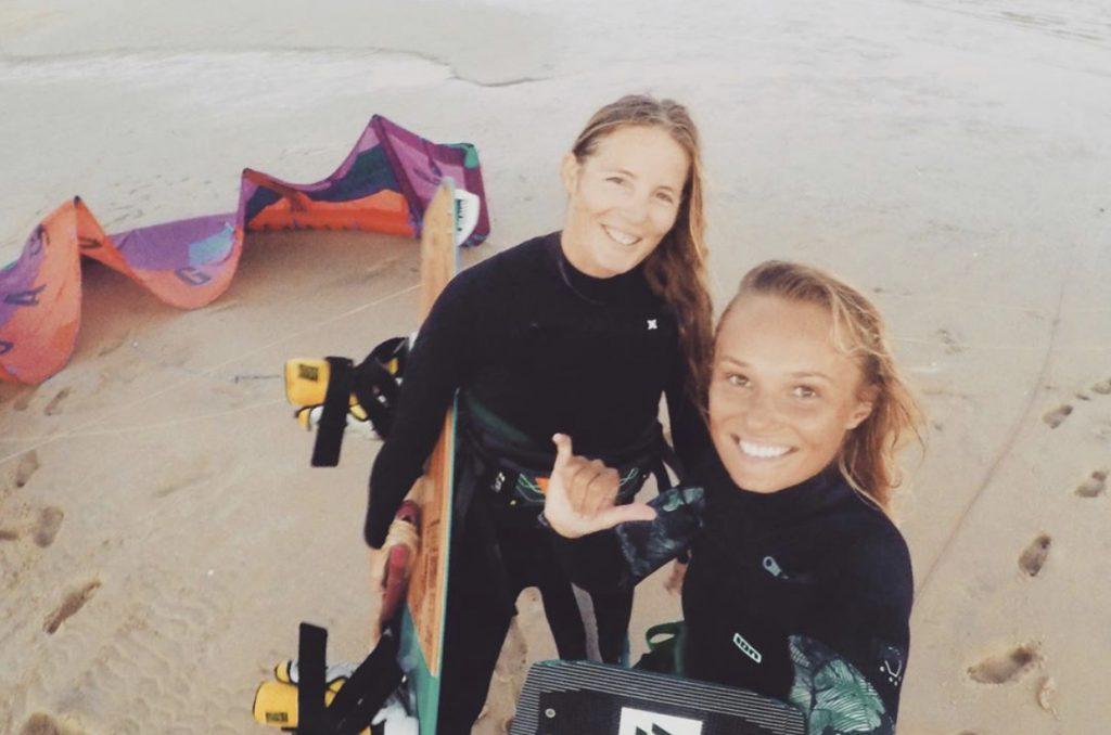 kitesurfing girls
