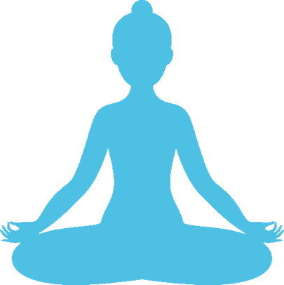 Yoga pose meditation